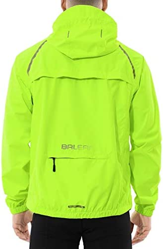 BALEAF Men s Cycling Running Jacket Waterproof Reflective Lightweight Windbreaker Windproof product image