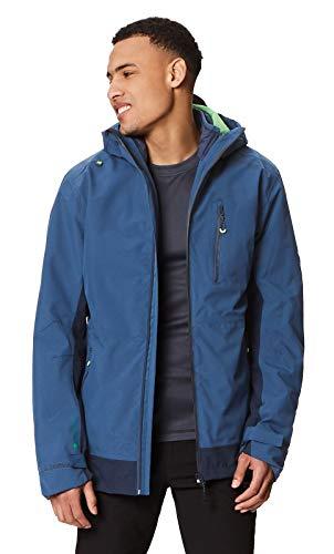 Regatta Herren Wentwood III 3 in 1 Waterproof and Breathable with Zip-Out Fleece Jacke, Dark Denim, m