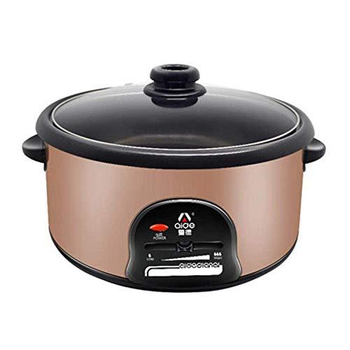 WSJ Multifunktions-Elektroherd Crêpe Pancake Maker Mini-Pfanne Antihaft-Dampfgarer Braten Kochen Kochtopf Golden220V