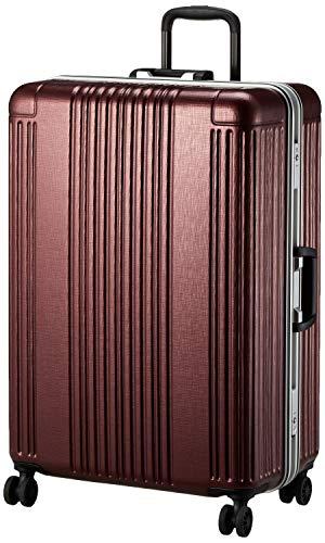 [シフレ] ハードフレームケース 大型 Lサイズ 1年保証付き SIF1065-66 保証付 90L 66 cm 5.5kg HLレッド