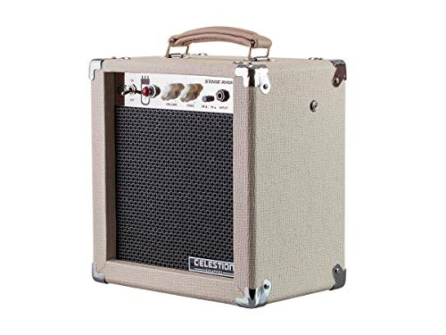 Monoprice 611705 5-Watt 1x8 Guitar Combo Tube Amplifier - Tan/Beige with Celestion Super 8 Inch...