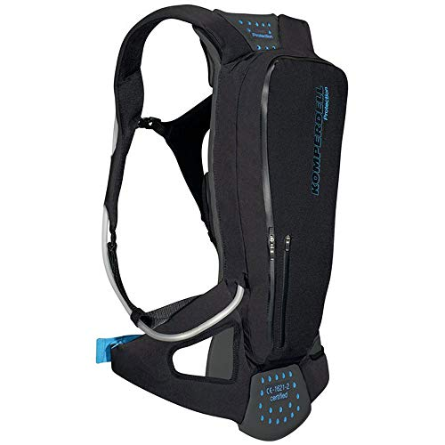 Komperdell Tourpack Protektorenrucksack Mit Integriertem Rückenprotektor, schwarz, 160-166