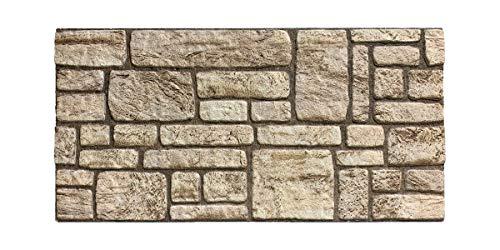 Wandverkleidung in Steinoptik für Schlafzimmer, Wohnzimmer, Küche und Terrasse in Klinkeroptik Look. (ST 245)