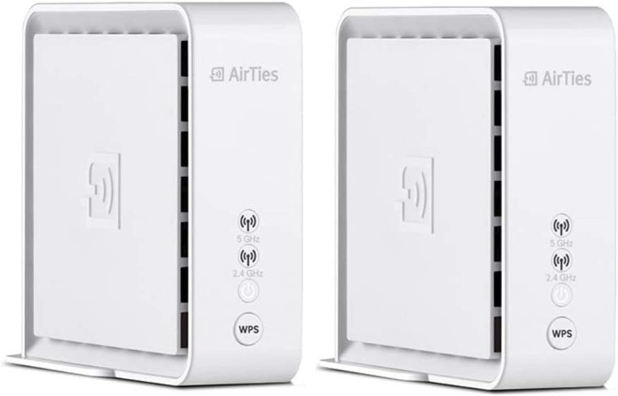 AirTies Air 4920 SmartMesh 2.4GHz & 5GHz Wi-Fi Extender (Pack of 2)