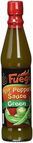 Fuego Hot Pepper Sauce green, 6er Pack (6 x 85 ml)
