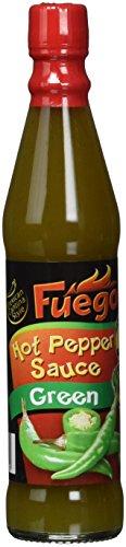 Fuego Hot Pepper Sauce green, 6er Pack (6 x 85 ml)