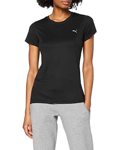 PUMA Damen T-shirt, Puma Black, L
