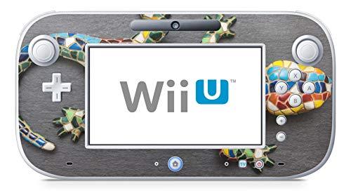 Skins4u Design modding Aufkleber Vinyl Skin Klebe Folie Skins Schutzfolie für Nintendo Wii U Controller Mosaik Gecko