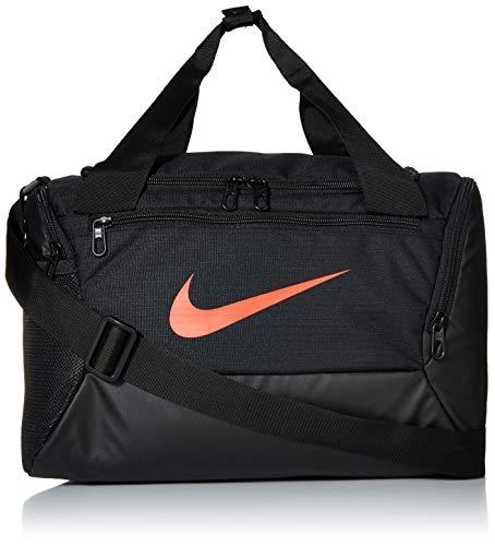 Nike NK BRSLA XS DUFF - 9.0 Gym Bag, Black/White, 40 cm