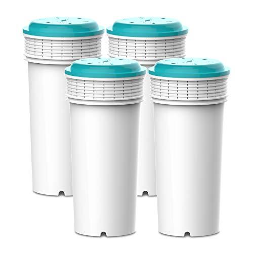 AquaCrest AQK-42371240 Cartuchos de filtro de agua de repuesto compatibles con Tommee Tippee® Prep sistema (4)