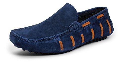 Bacca Bucci Men's Blue Loafers - 10 UK, BBMC4059B