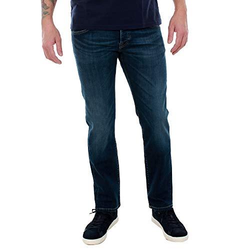 Preisvergleich Produktbild Pepe Jeans Jeans Herren EU28 / L30 Dunkelblau PM200072GD10 Cane