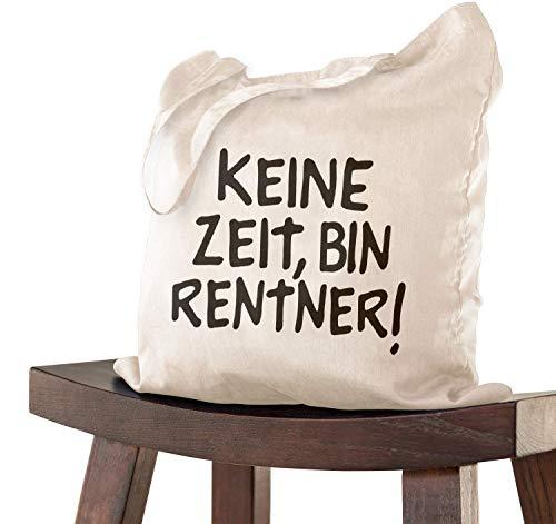 Abschiedsgeschenk RENTNER Tasche 38x42 zur Pensionierung als Dankeschön bei Verabschiedung, Kollegen Kollegin zum Ruhestand bei Renteneintritt oder Pensionierung- Abschiedsfeier Geburtstag Spruch