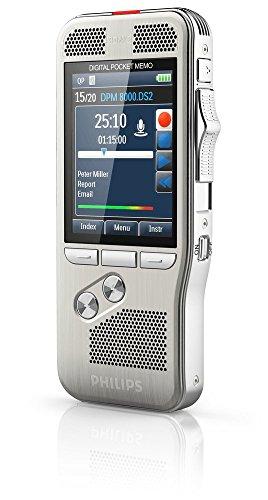 Philips DPM-8000 Professional Digital Pocket Memo with Cradle ...