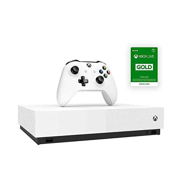 Microsoft – Xbox One S 1TB All-Digital Edition Console with Xbox One Wireless Controller (Renewed)