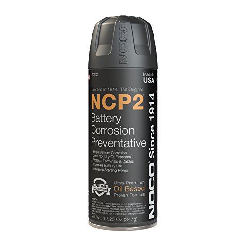NOCO NCP2 A202 12.25 Oz Oil-Based Battery Corrosion Preventative Spray, Corrosion Inhibitor, And Battery Terminal Grease