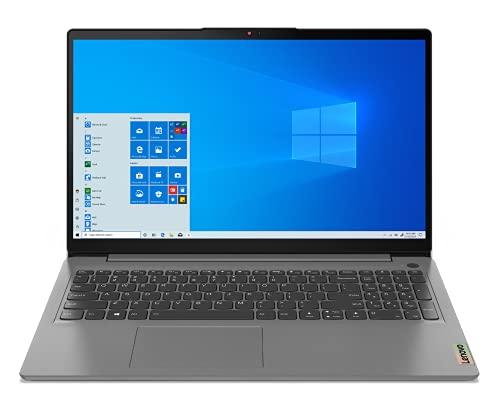 Lenovo IdeaPad 3 - Ordenador Portátil 15.6' FullHD (Intel Core i5-1135G7, 8GB RAM, 512GB SSD, Intel Iris Xe Graphics, Windows 10 Home), Gris - Teclado QWERTY Español