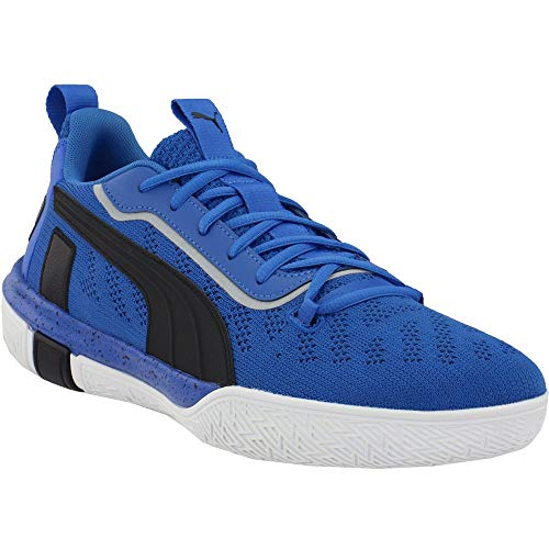 PUMA Mens Legacy Low Basketball Shoes Basketball Casual Shoes, Blue, 12
