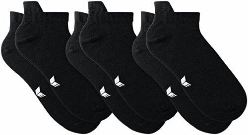erima Stutzen und Socken 3-Pack Sneakersocken Stutzen & Socken, Schwarz, 43-46