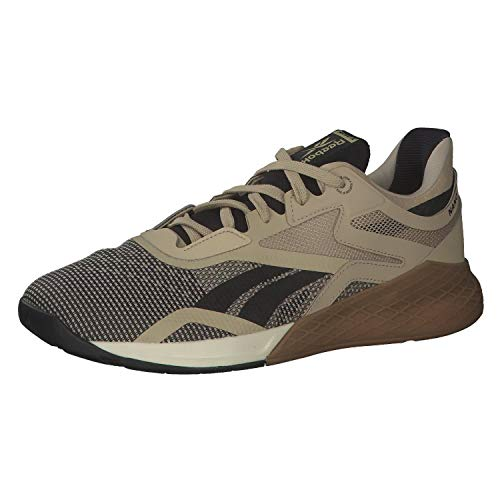 Reebok Nano X, Zapatillas de Deporte para Hombre, UTIBEI/Negro/ALABAS, 44 EU