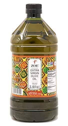 ZOE Extra Virgin Olive Oil, 68 oz, 2 Liter