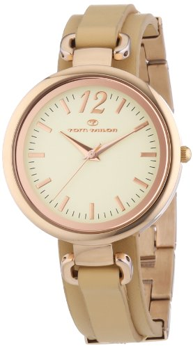 Tom Tailor Damen-Armbanduhr Analog Quarz Leder 5412001