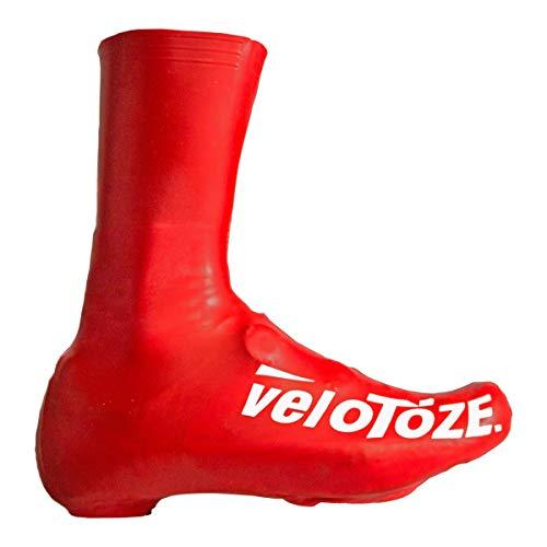 velotoze Toze deckt Schuhe Unisex, uni, Toze, rot(rot), L : 43-46