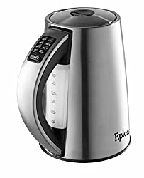 Epica 6-Temperature Variable Stainless Steel Electric Kettle on a budget
