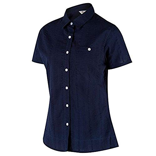 Regatta pour Femme Jerbra II Chemises M Bleu Marine