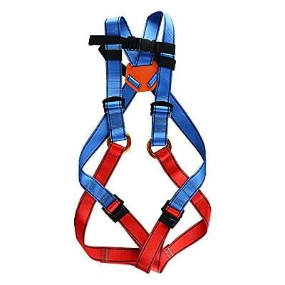 HYDDNice Climbing Harness Full Body Seat Belt Rock Climbing Harness Safety Belt for Outdoor Expanding Training Caving Rock Climbing Rappelling Equipment