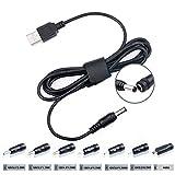 TAIFU 5V 9V 12V 17V 1A 2A 3A USB DC Connecteur Adaptateur de Cable to 5.5*2.1mm avec...