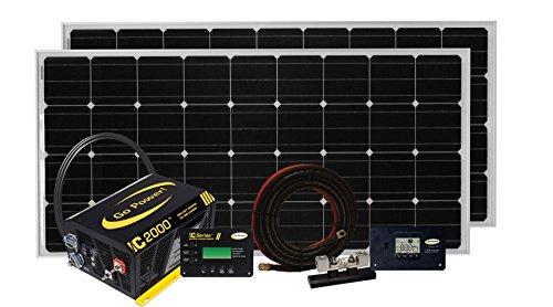 Go Power Solar Elite Complete Solar and Inverter System