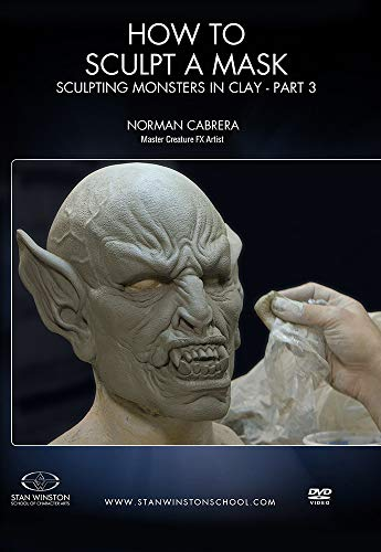 How to Sculpt a Mask: Sculpting Monsters in Clay Part 3