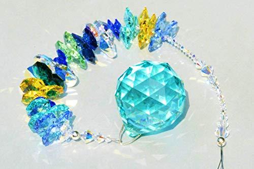 NEU! Sonnenfänger 'Bora Bora', handgearbeitet aus funkelnden Kristallen von Swarovski®