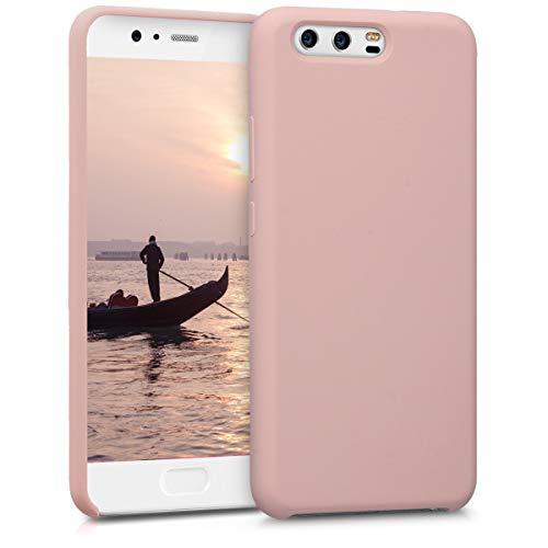 kwmobile Huawei P10 Hülle - Handyhülle für Huawei P10 - Handy Case in Rosegold Matt Custodia per Cellulare