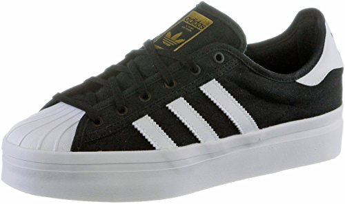 adidas Superstar Rize, Core Black-Ftwr White-Gold Metal, 7