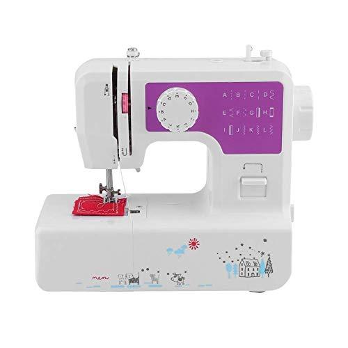 ZHTY Macchina da cucire, macchina da cucire elettrica portatile, macchina da cucire Resistente con tavolo allungabile, macchina da cucire rapida per overlock Ricamo a Mano