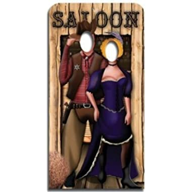 Star Cutouts SC171 Wild West Couple Life-size Cardboard Cutout