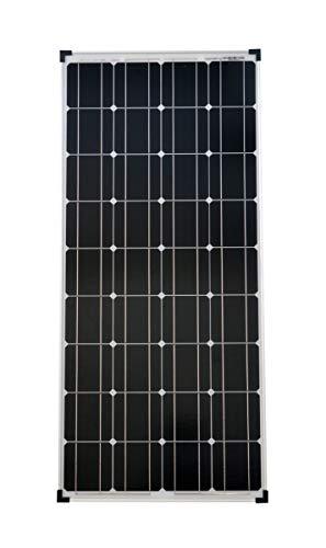 solartronics Solarmodul 100 Watt 1200x540x30 Monokristallin Solarpanel Solarzelle 2 Busbars 12V