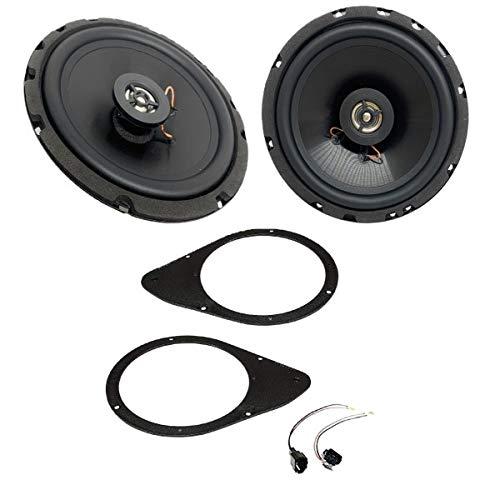 Sound-Way - Kit de Altavoces Completo con adaptadores para Puertas traseras Fiat 500 / Stilo 3 - KSH-FIAT3