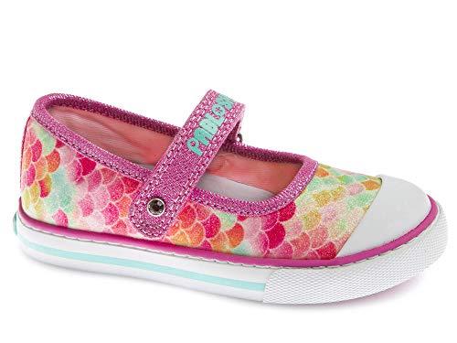 Zapatillas De Lona Niña Pablosky Rosa/Lila 962481