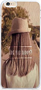 Case for Iphone,Dseason Iphone 6  4.7  Hard Case NEW Unique Design Christian Quotes are you happy?
