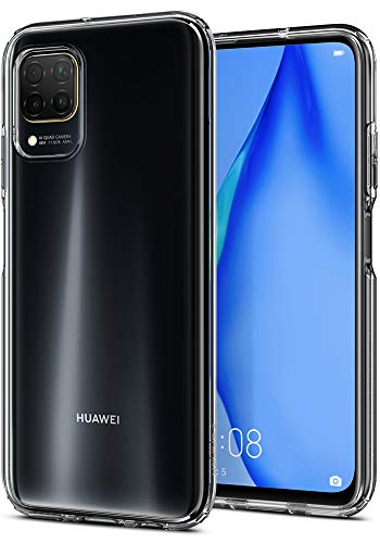 Spigen Cover Liquid Crystal Compatibile con Huawei P40 Lite - Crystal Clear