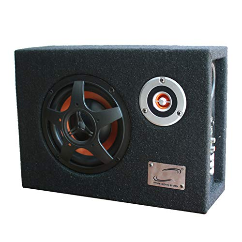 LYzpf auto subwoofer stereo audio apparatuur 8 inch 480 W hoge energie ultradunne luidspreker speler