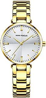 ميني فوكس ساعة رسمية نساء انالوج بعقارب ستانلس ستيل - MF0265L. 01