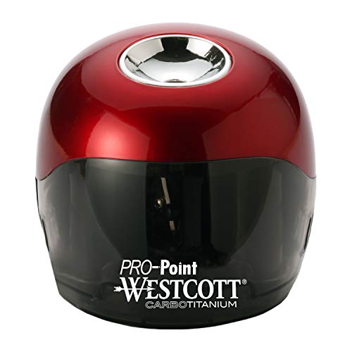 Westcott PRO-Point CarboTitanium Ball Battery Pencil Sharpener