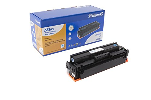 Pelikan Toner ersetzt HP CF411X (passend für Drucker HP CLJ Pro M 452 / MFP M 477X)