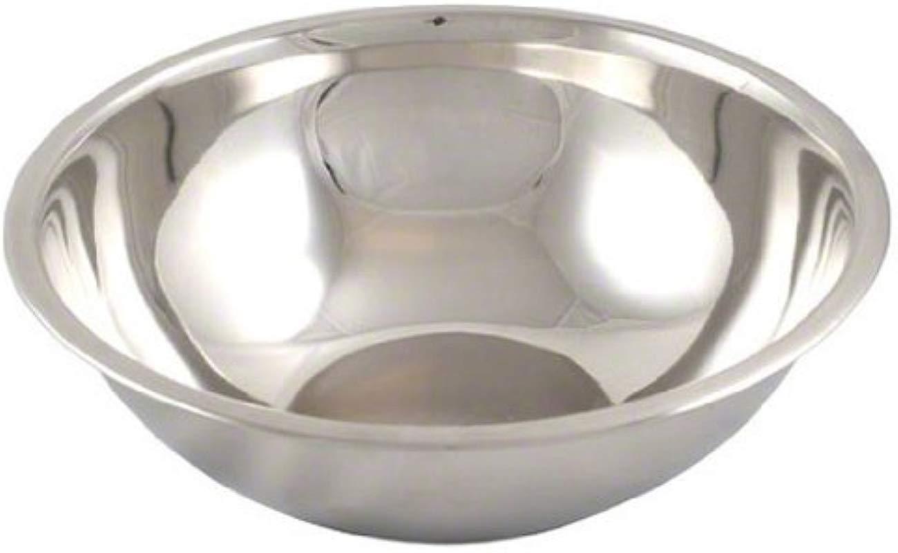 American Metalcraft SSB400 Stainless Steel Mixing Bowl 10 5 Diameter Silver 4 Quart