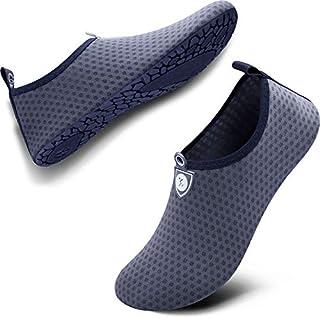 SIMARI Womens and Mens Water Shoes Quick-Dry Aqua Socks...