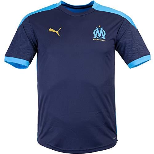 Puma - Camiseta de entrenamiento del Olympique de Marsella (talla L), color...